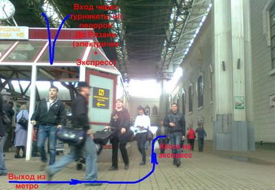 Схема электричек казанского вокзала
